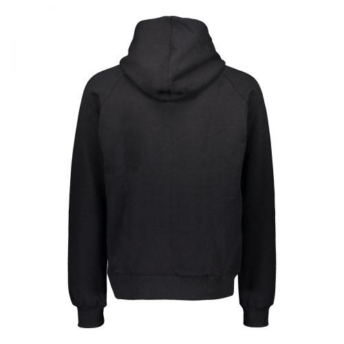Alpha Black Full Zip Hoodie Back