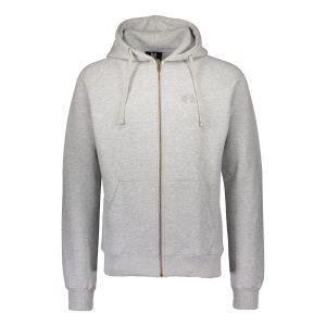 Alpha Grey Full Zip Hoodie
