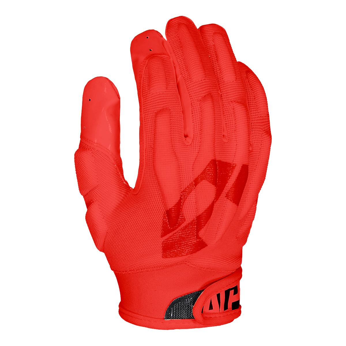 Alpha Fuse 1 0 Padded Glove Red Alpha