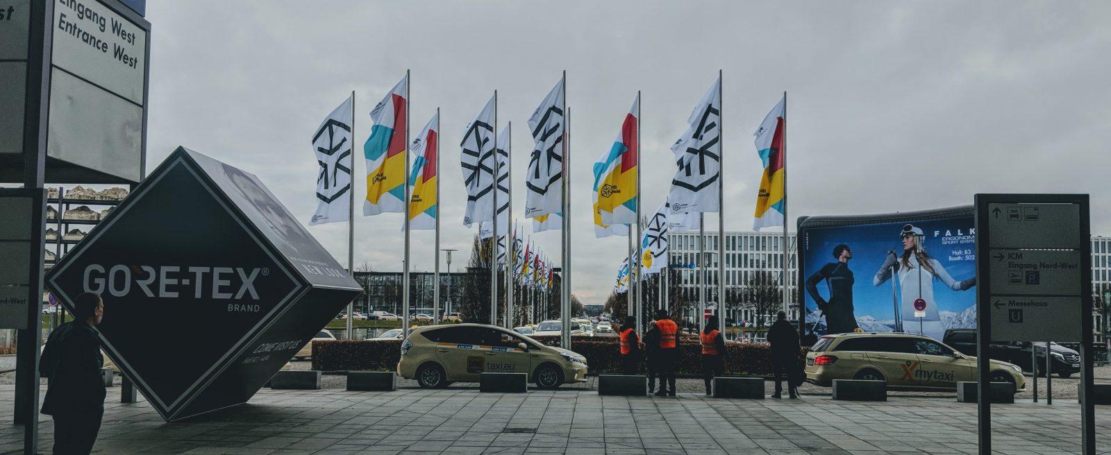 ISPO Munich Flags